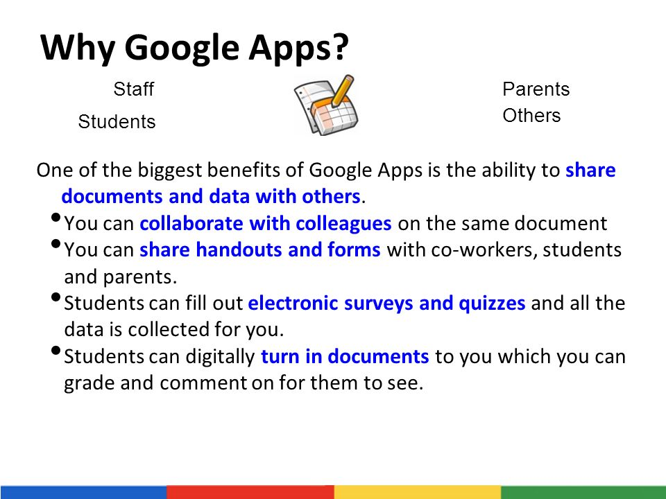 Why Google Apps.