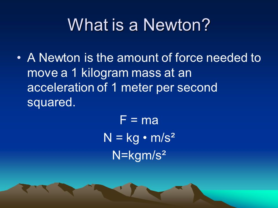 Newton S Second And Third Laws Chapter 4 Section Ppt Download