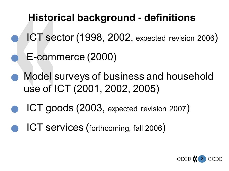 historical background of ict
