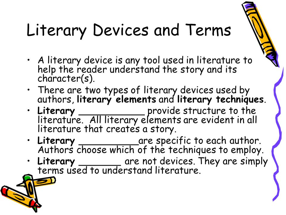 Literary Devices Literary Elements Part 1 Adapted From Ms Baisleys