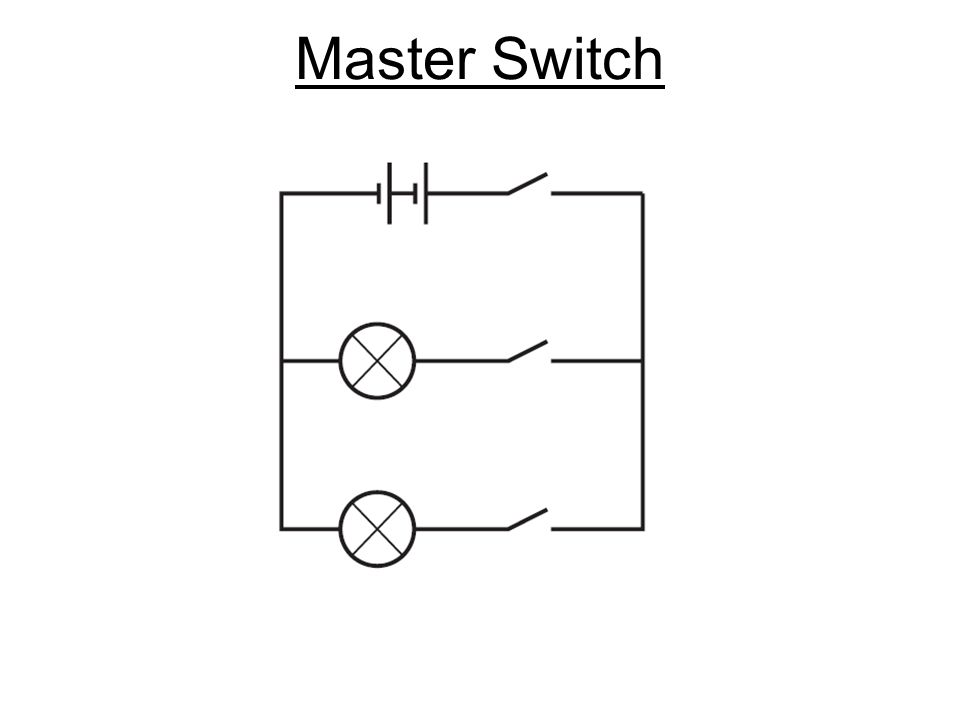 slide_10 design a circuit circuits the bulb will only light if there is a