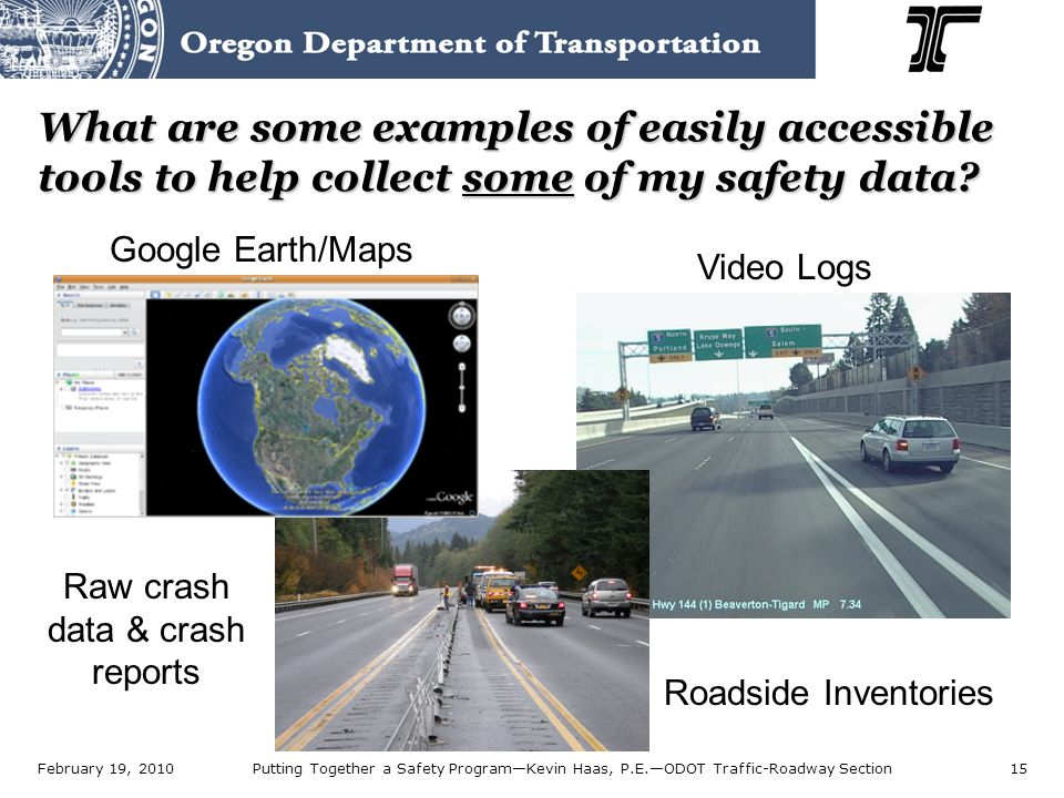 Putting Together a Safety Program Kevin J  Haas, P E —Traffic