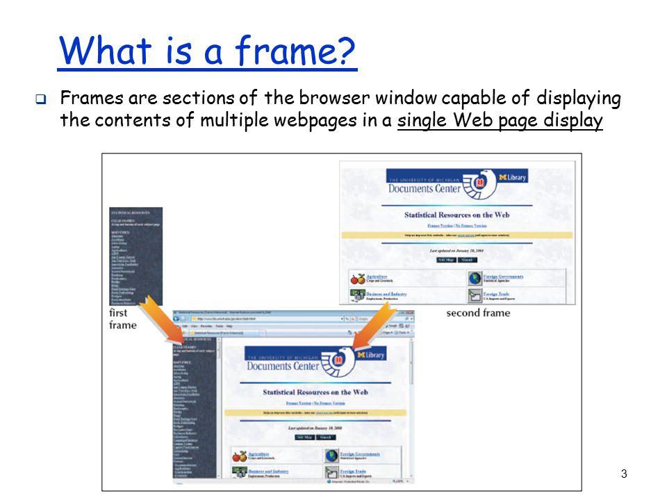 1 HTML Frames - ppt download