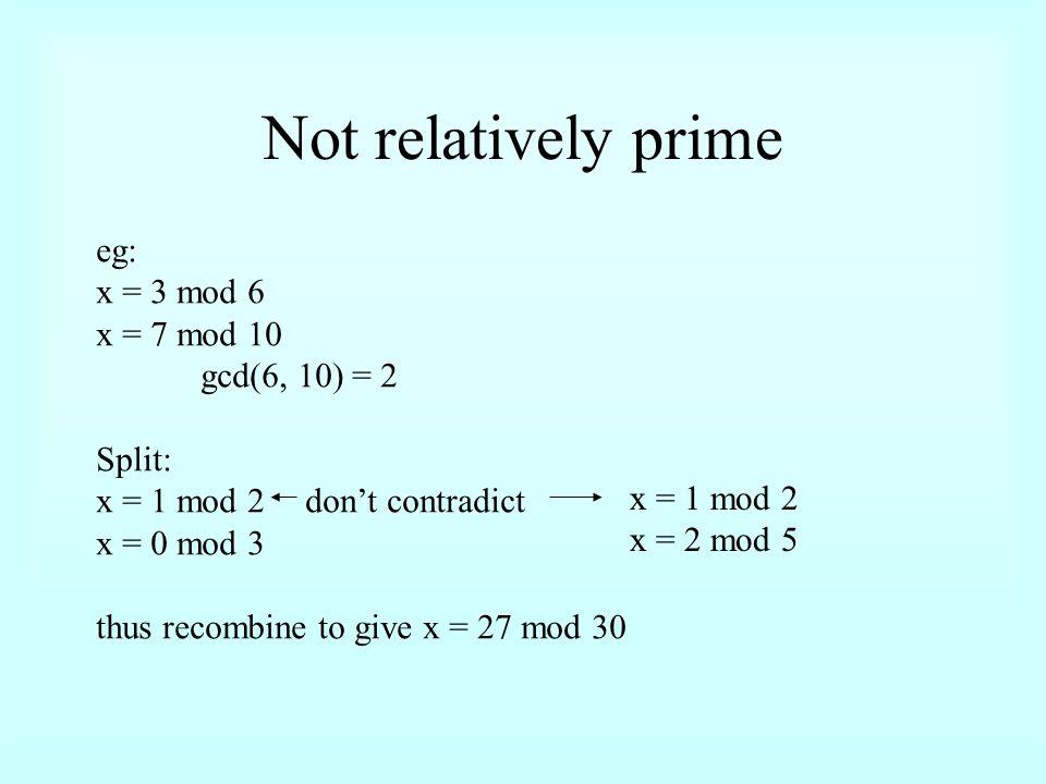 Modular (Remainder) Arithmetic n = qk + r (for some k
