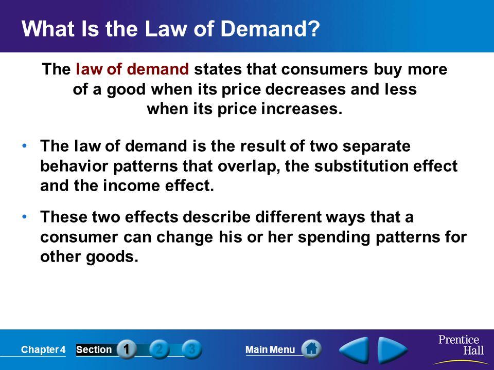 types of demand patterns