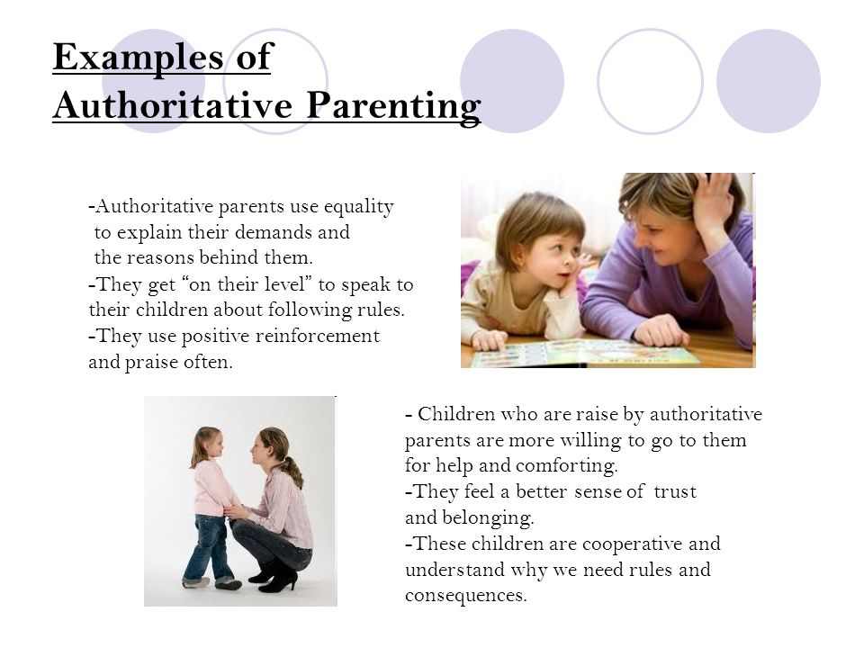 Baumrinds Parenting Styles Child Psychology 1 You Need Your Books