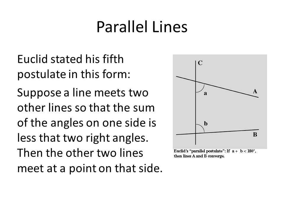 Euclidean Geometry - ppt download