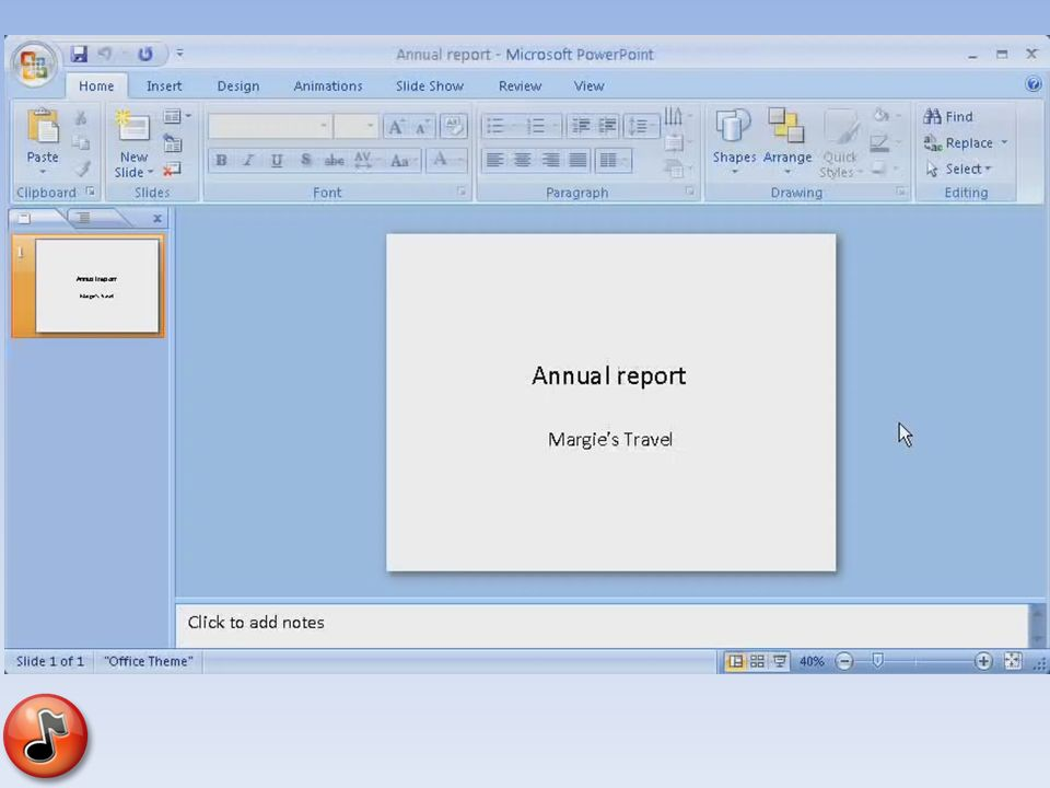 Powerpoint basics basics add lyrics add picturespictures hyperlinks i will set up an index with examples from powerpoint 2007 for the teachers to use when they need help reference link toneelgroepblik Gallery