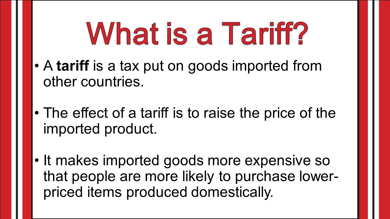 What is the tariff 71