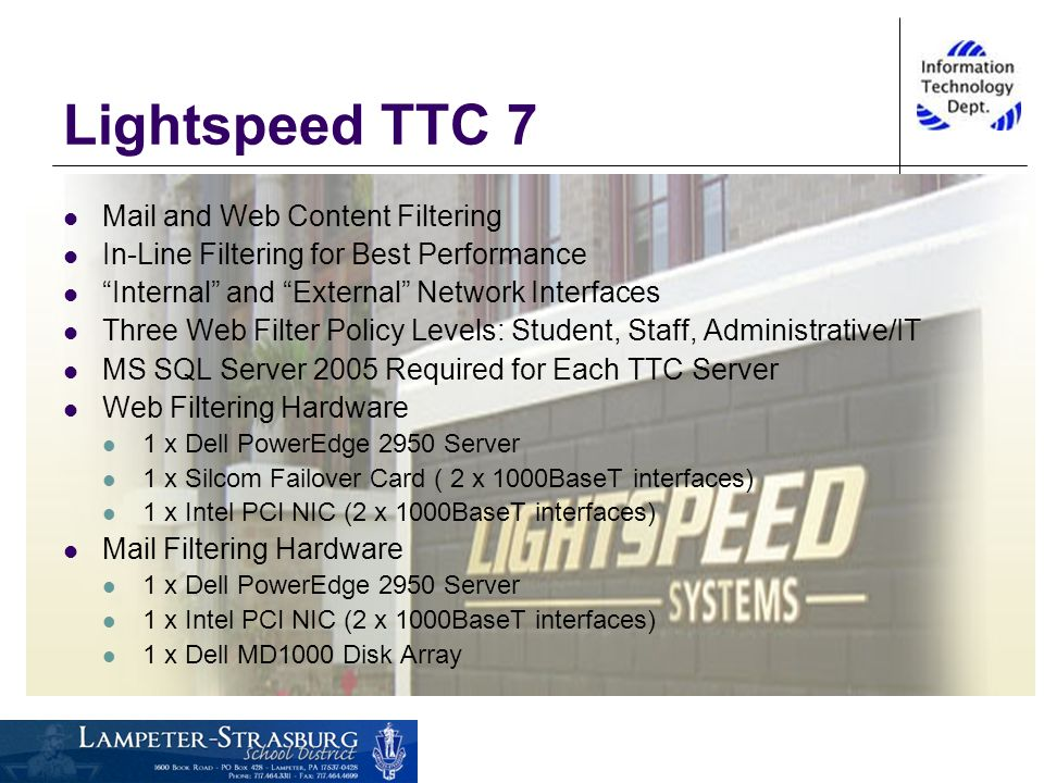 12 Lightspeed TTC 7 Mail And Web