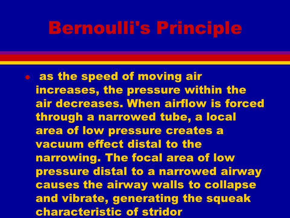 epiglottitis and croup basic science l venturi effect l bernoulli