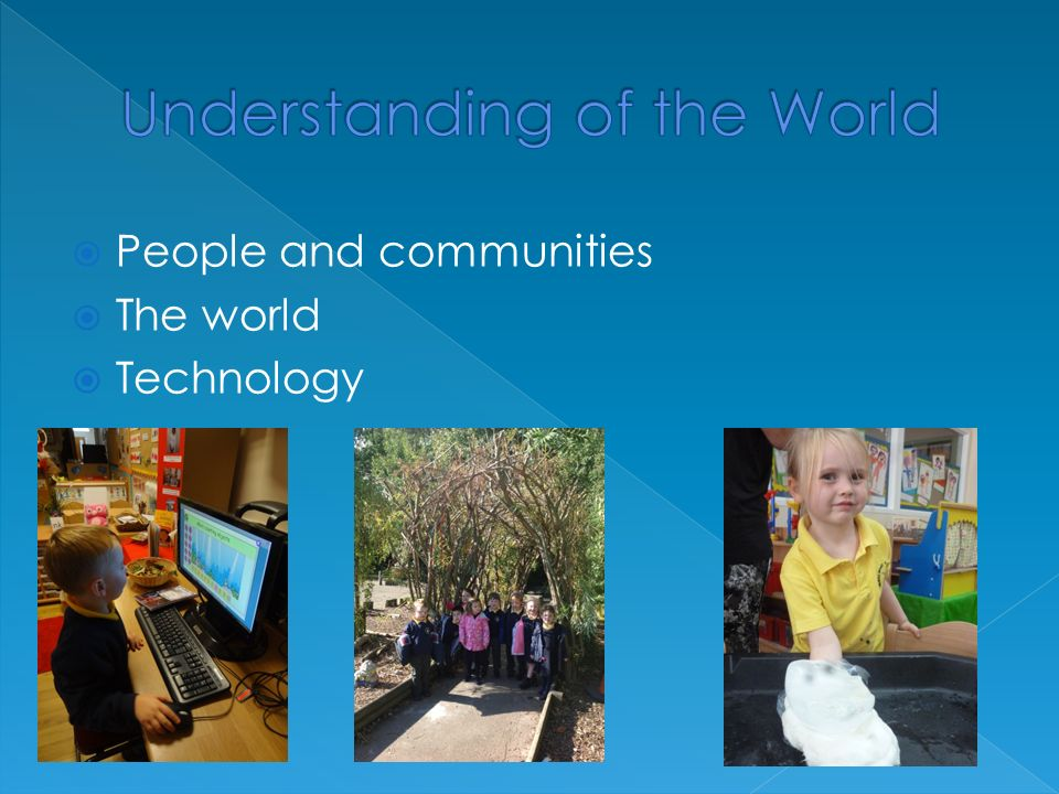  People and communities  The world  Technology