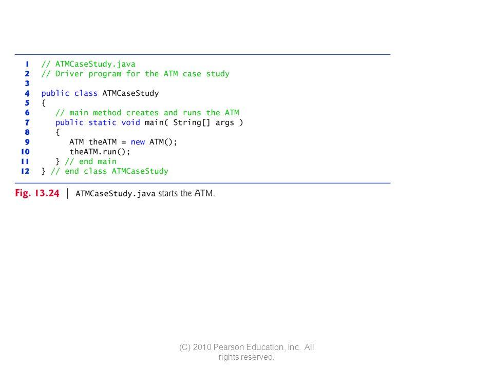 Simple Atm Program In Java