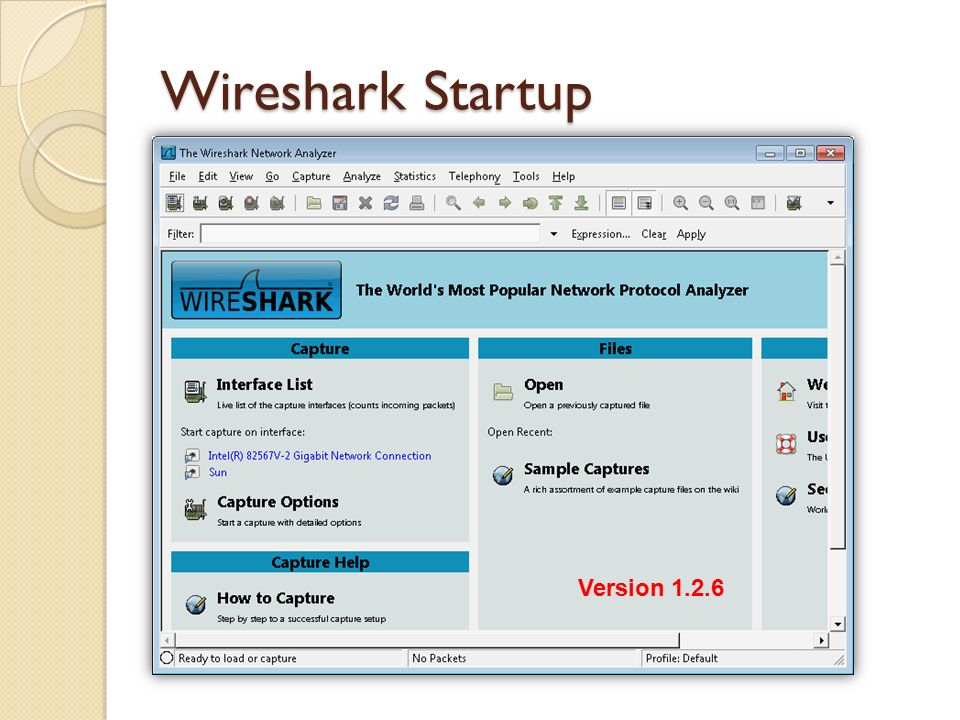 Network Analyzer :- Introduction to Wireshark  What is Wireshark