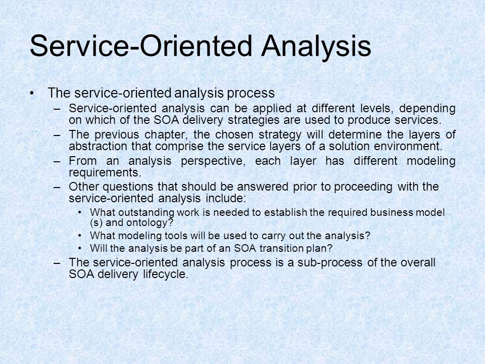 service oriented architecture and what advantages information technology essay Service oriented architecture is software architecture of a firm built on a collection of software programs that communicate with each other to perform assigned tasks.