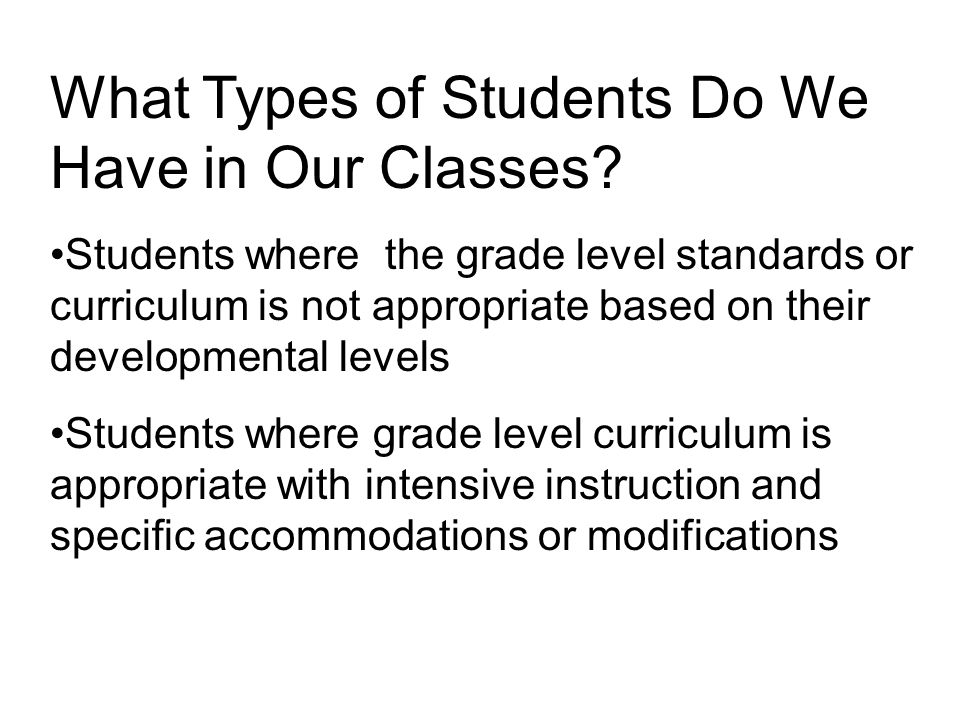 Research Based Instructional Strategies For Disabled Students