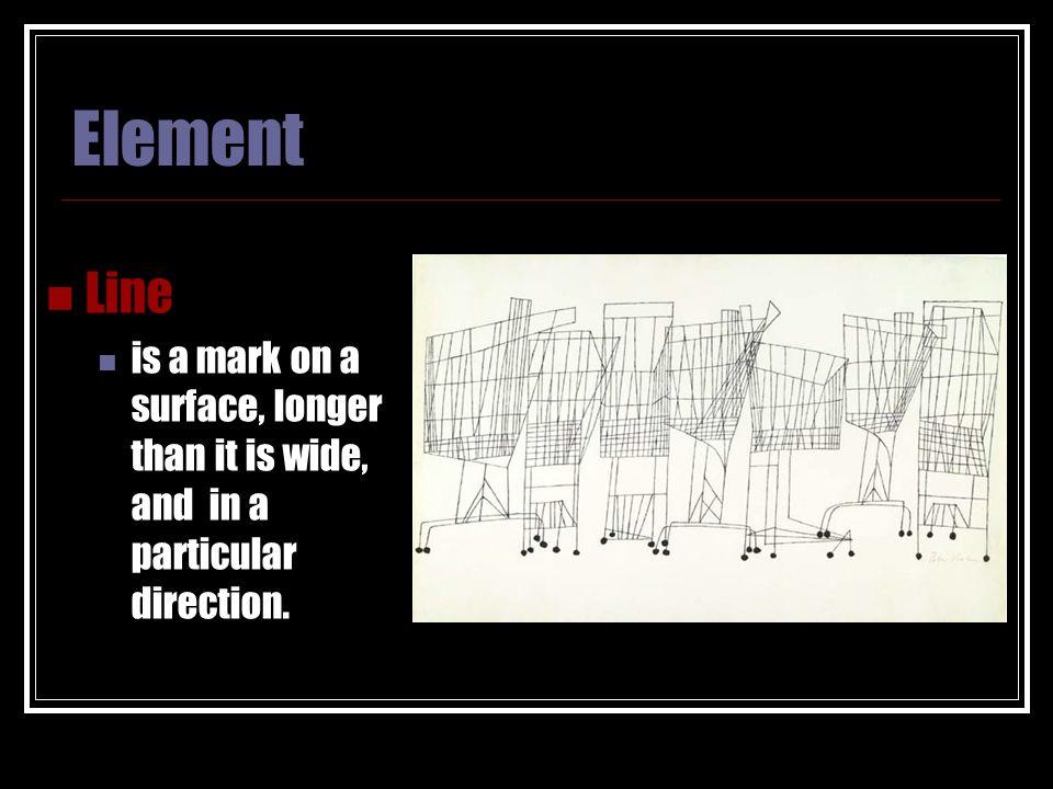 Elements & Principles OF ART 8 TH Grade  ELEMENTS PRINCIPLES