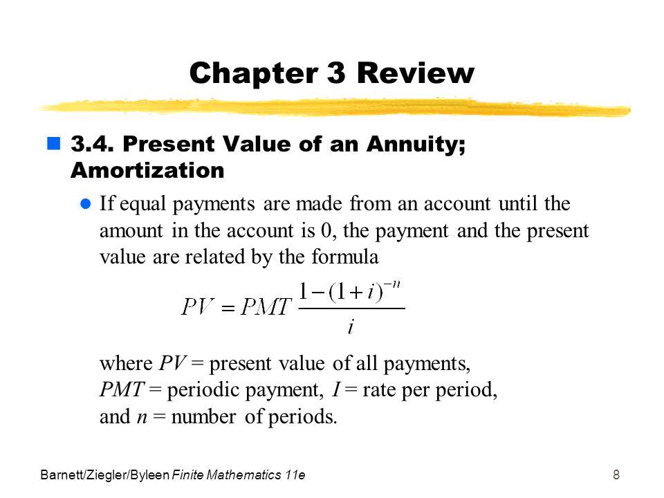 barnett ziegler byleen finite mathematics 11e1 chapter 3 review