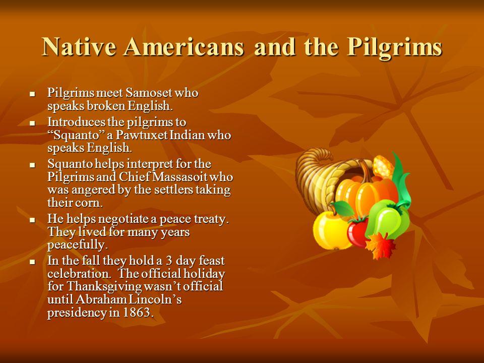 similarities between pilgrims and native americans