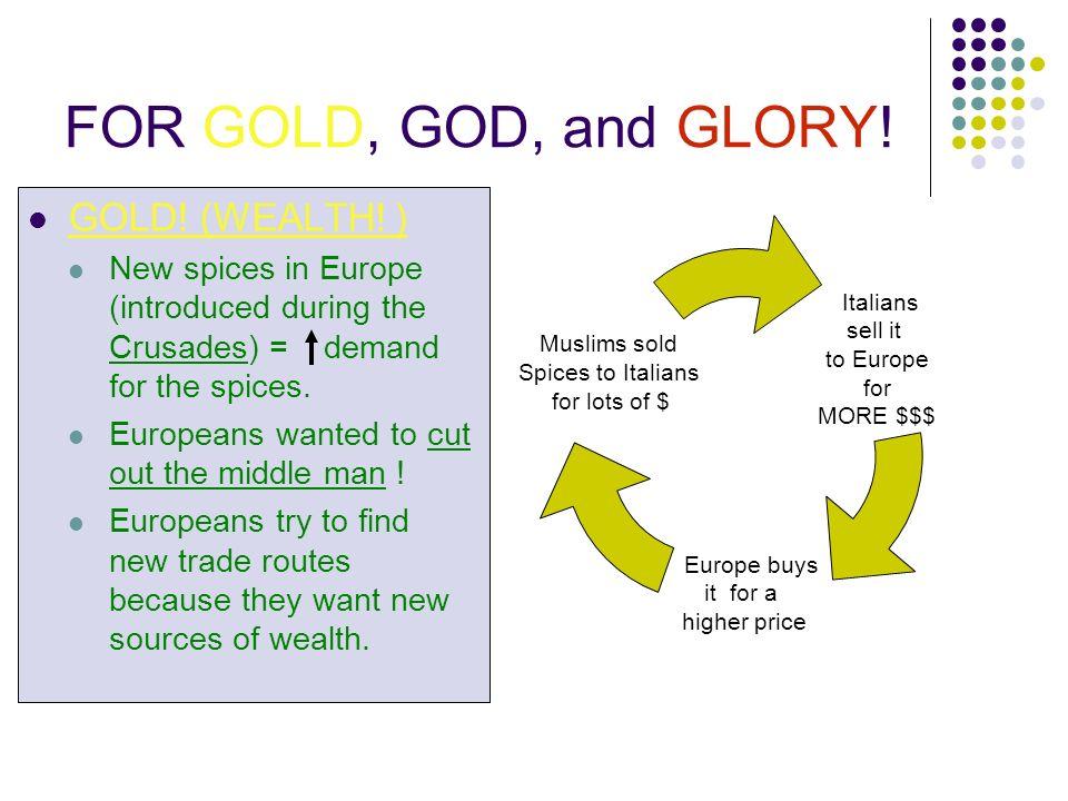god glory gold