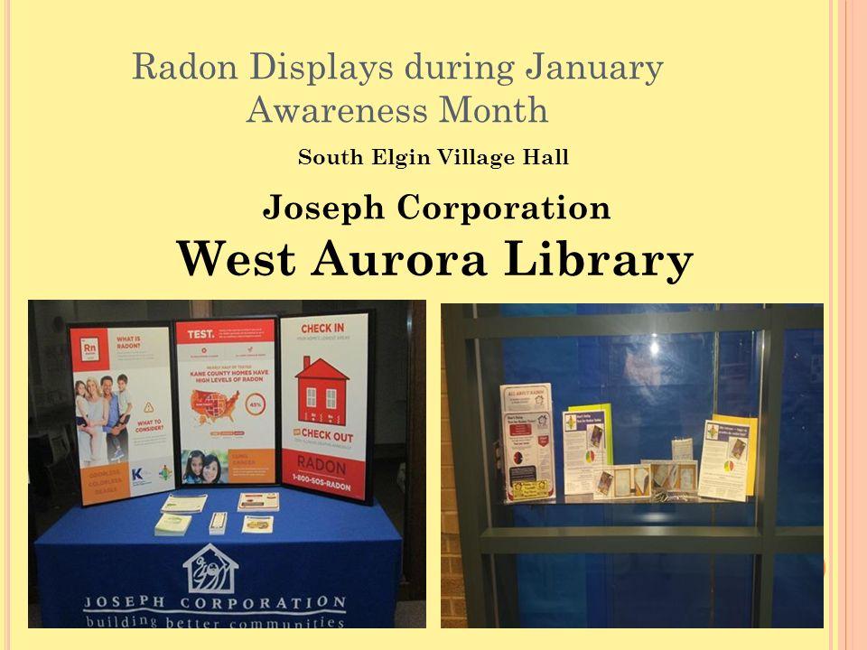Kane County Health Department Radon Outreach Program