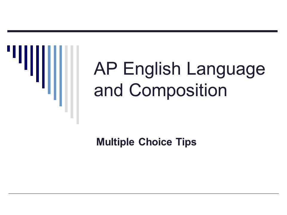 ap english tips