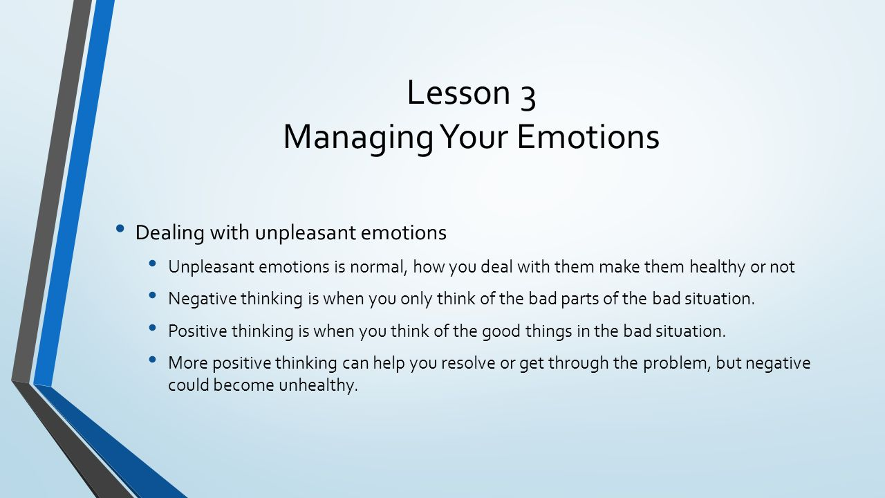 mental and emotional health chapter 7 kinds of emotions being