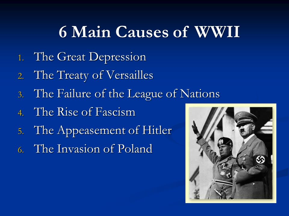 the effects of wwi The punitive measures to germany gave hitler the in-road needed to assume power and start another war when germany surrendered in wwi, the victors imposed sanctions which drove germany into severe depression and poverty this really set the stage for wwii war was a seemingly viable way to.