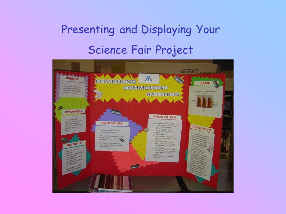 presenting and displaying your science fair project ppt download