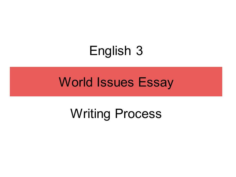 English 3 World Issues Essay Writing Process Child Labor Chart
