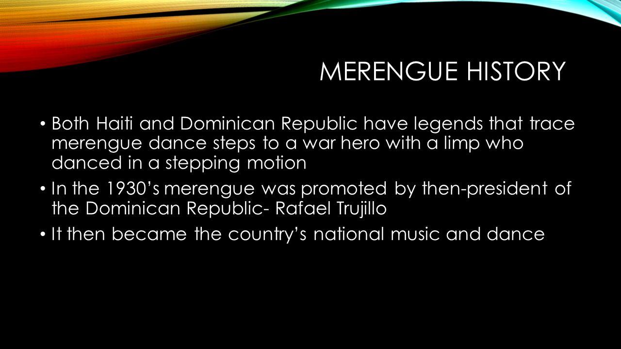 merengue history