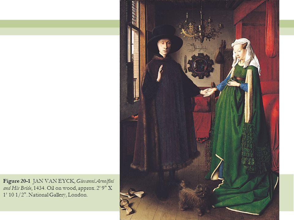 Figure 20 1 Jan Van Eyck Giovanni Arnolfini And His Bride Oil On