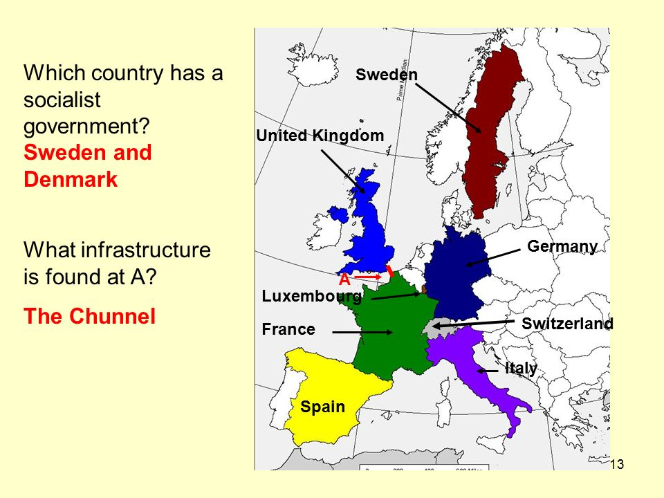Map Of Spain And United Kingdom.1 Quiz On Physical Features Of Europe Answer Questions On The Answer
