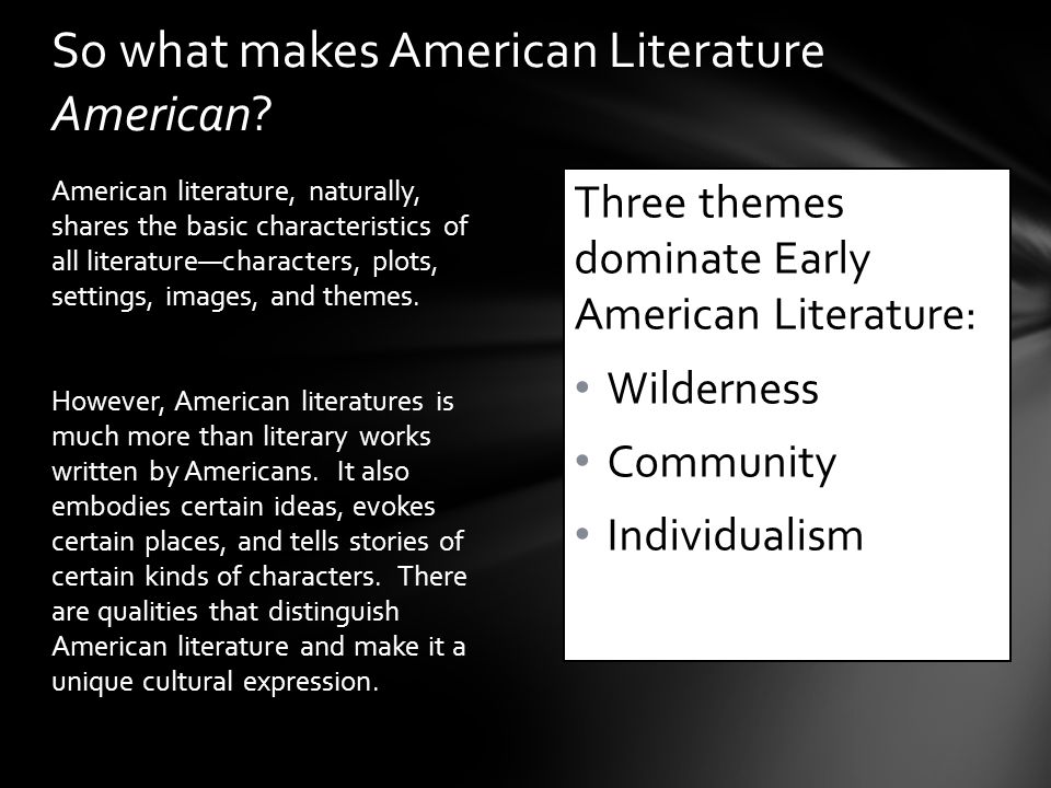 Unit 1: Literature of Early America Beginnings to ppt download