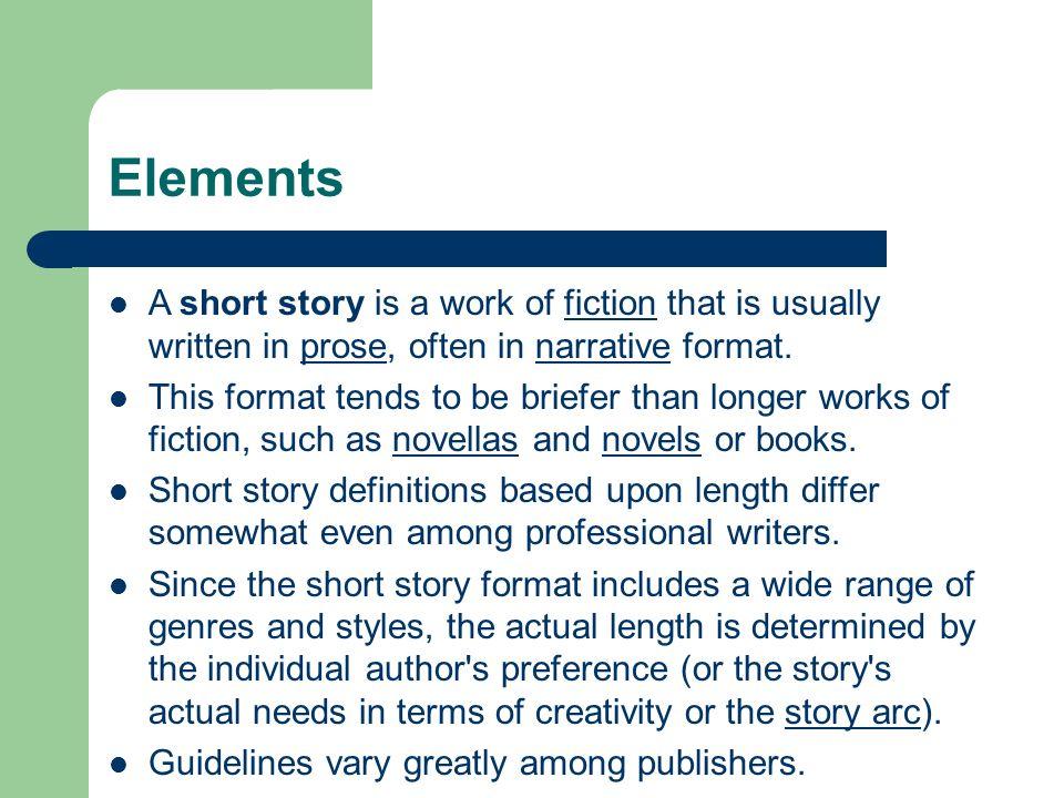 small narrative story
