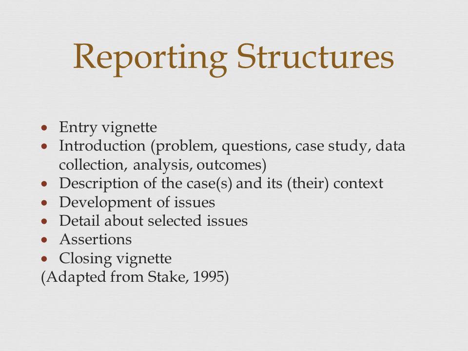 case study data
