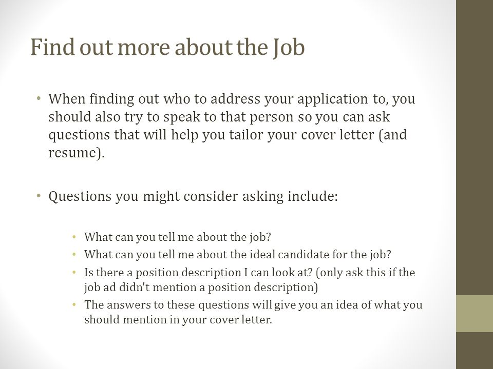 Didn't Get The Job Letter from images.slideplayer.com