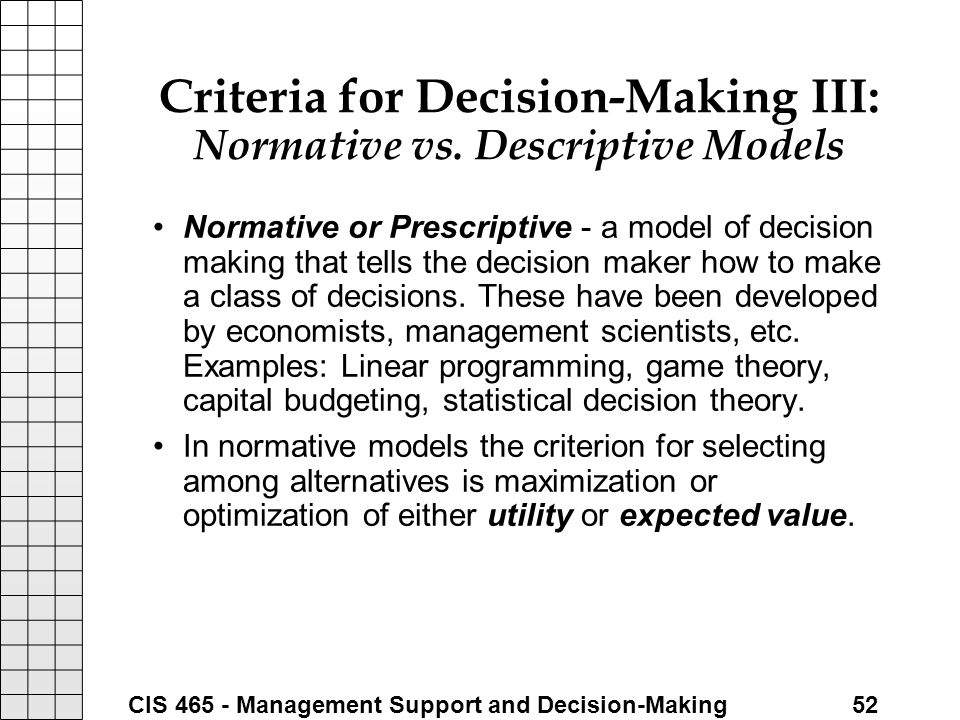 techonology and decision making paper hcs 482 Technology and decision making university of phoenix healthcare informatics hcs/482 richard ong november 15, 2008 technology and decision making technology, decision-making processes, and data accessibility have changed dramatically in recent years this paper will discuss systems and.