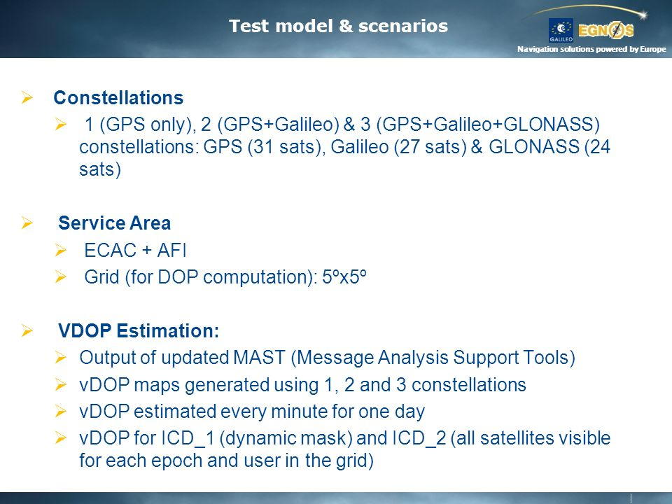 Navigation solutions powered by Europe SBAS DFMC SIS ICD EPO