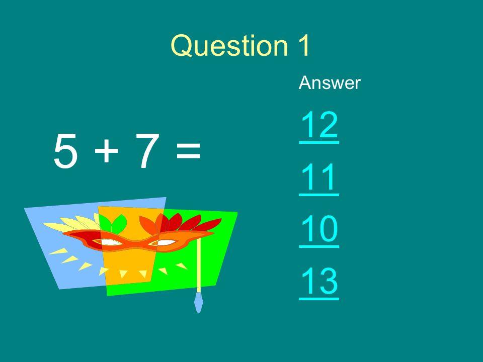 Math Games Start Game Instructions for Teacher Question