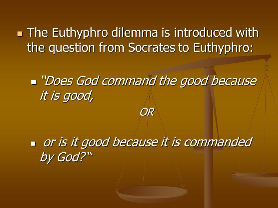 """euthyphro four definitions """"euthyphro"""" is the third and final full socratic text i've spent some time teaching (i've also excerpted the analogy of the cave, and the meno sequence where socrates teaches a slave-boy geometry, which we'll come to in good time."""