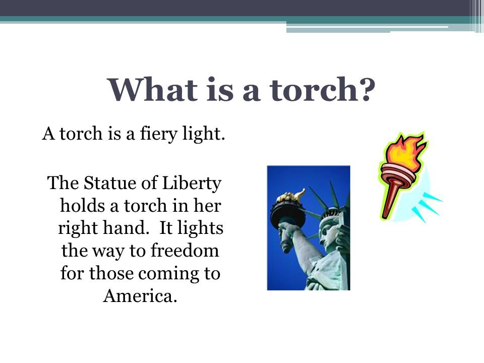 The Statue Of Liberty Vocabulary Read The Vocabulary Words Liberty