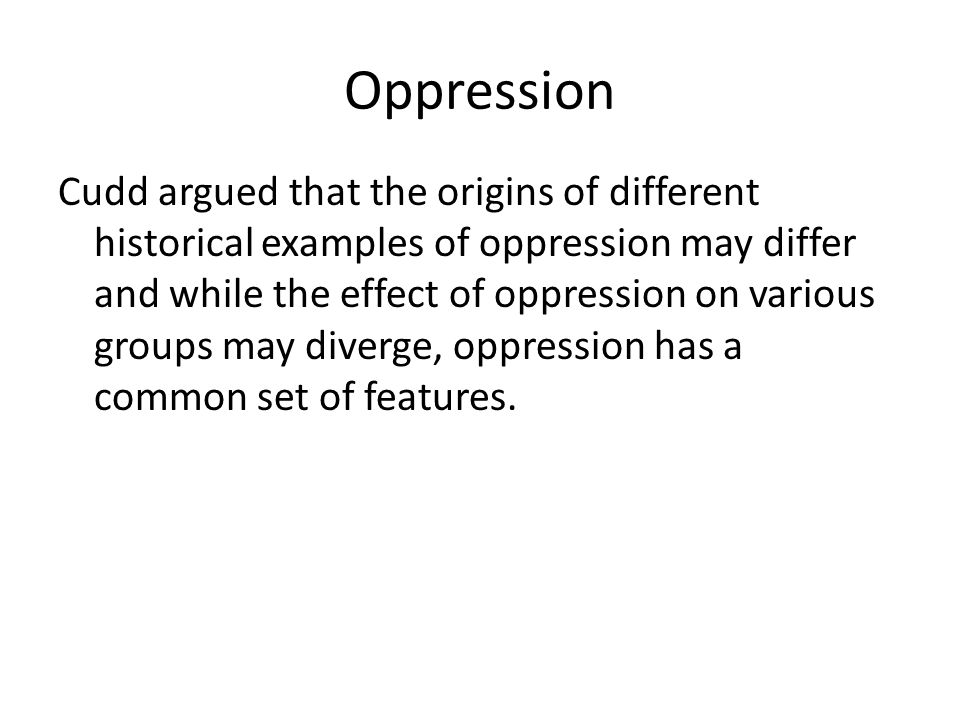 Oppression Dehumanization And Exploitation Connecting Theory To