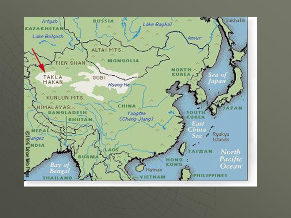 Geography Of Ancient China China S Harsh Deserts Gobi Desert To