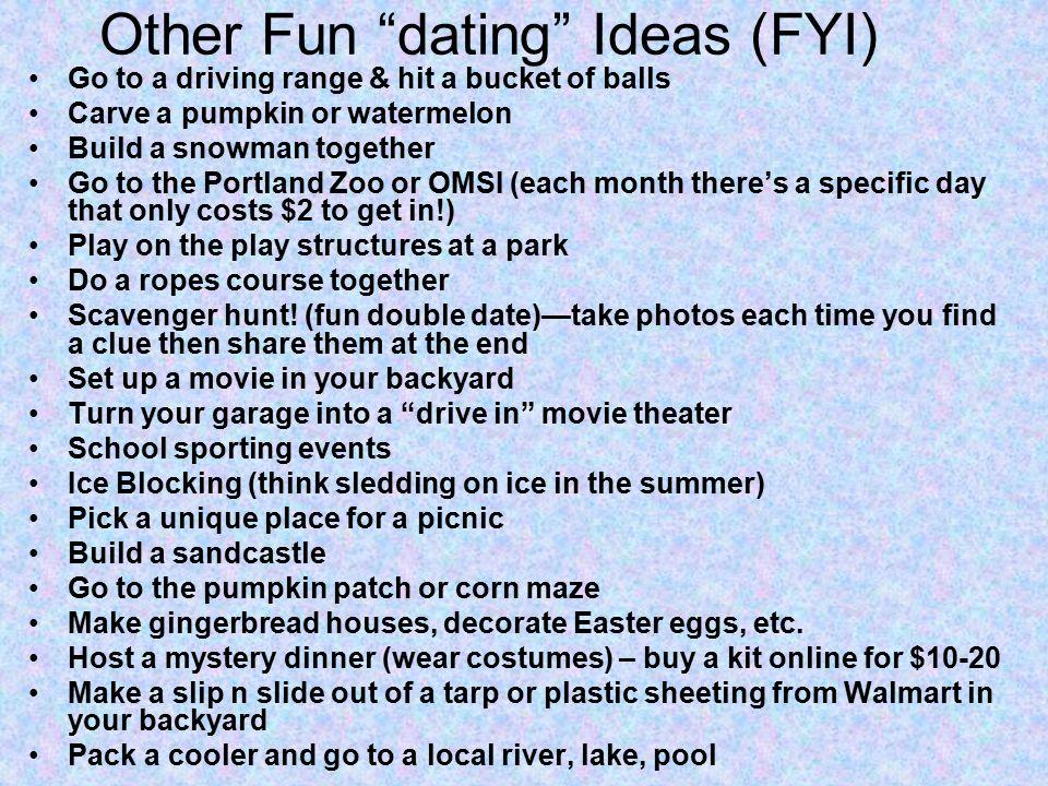 good double date ideas