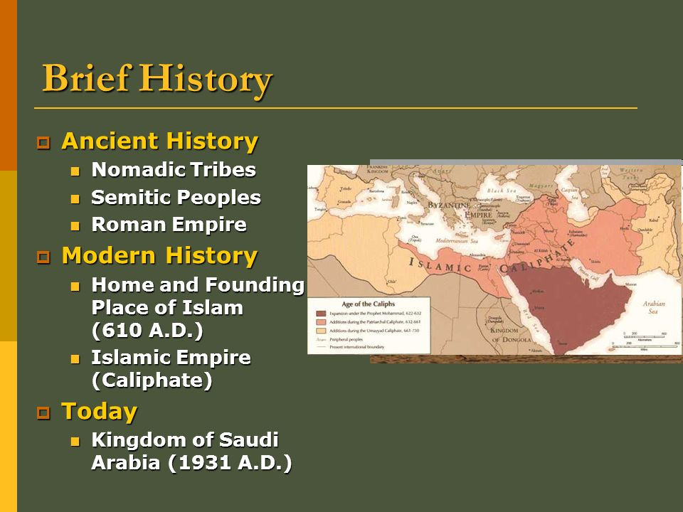 Oil And Influence A Modern History Of Saudi Arabia Ppt Download