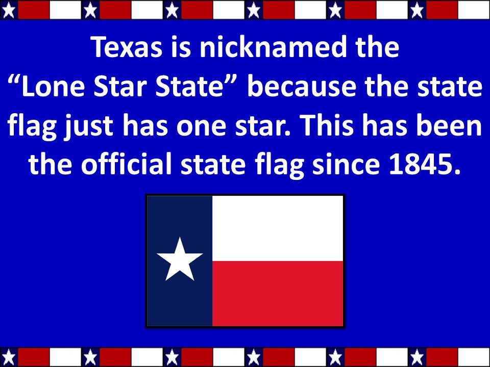 Texas State Symbols Texas State Symbols Are Important Because They