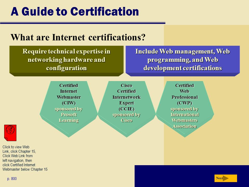 1 Chapter 15 Computer Careers And Certification Chapter 15