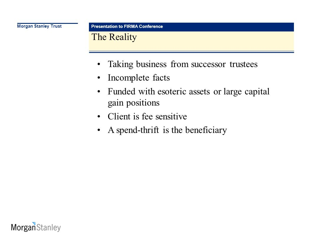Risk Management and the New Business Process Presentation to