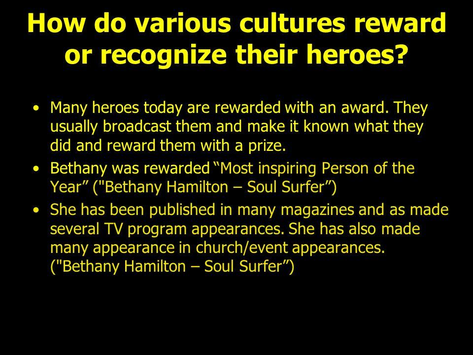 how is bethany hamilton a hero